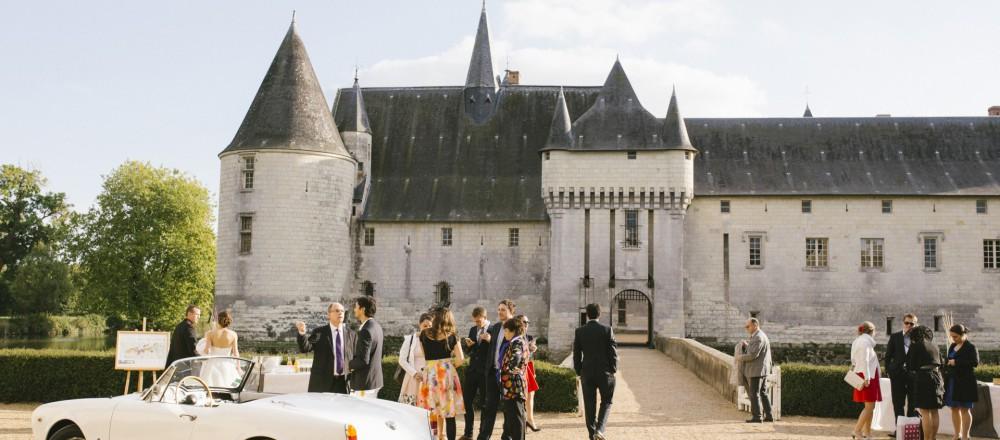 Se marier au château